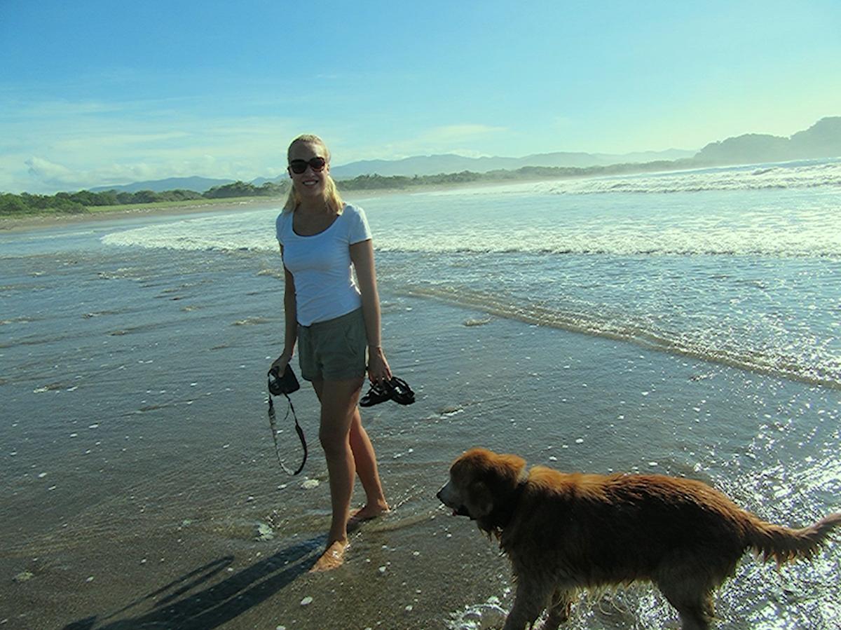 Rundgang am Meer Costa Rica
